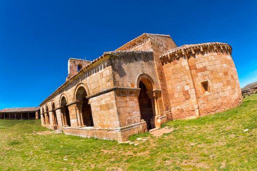 Chapel of Santa María de Tiermes, Montejo de Tiermes, Spain
