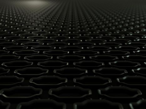 Car grille grid close up background texture
