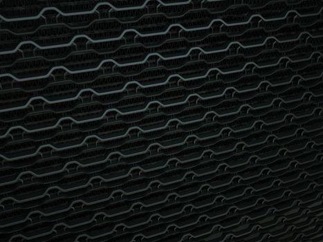 Ventilation radiator grille closeup background texture