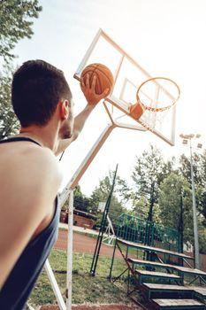 Free Basketball Throw