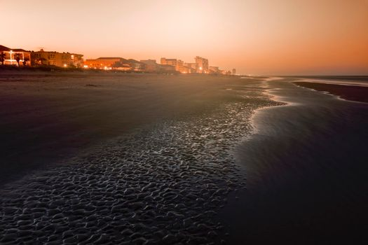 Beach in South Padre Island, Texas