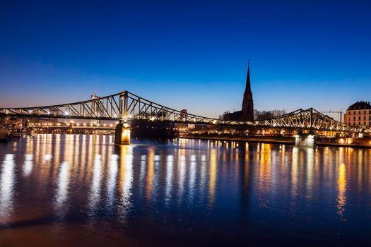 The Iron Bridge and Dreikonigskirche