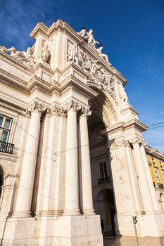 Rua Augusta Arch in Lisbon
