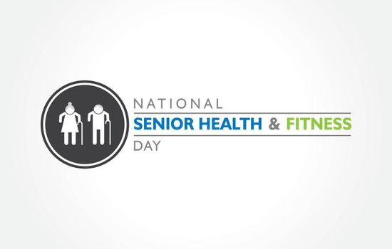 National Senior Health and Fitness day observed on last Wednesday in May.