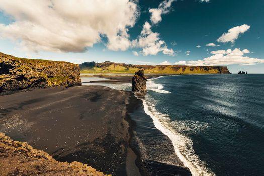 Suðurland beach