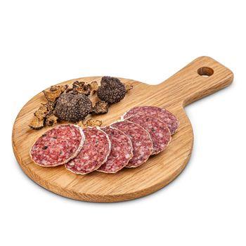 Gourmet salami with truffle