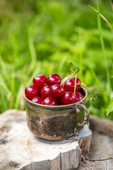 Fresh sour cherries