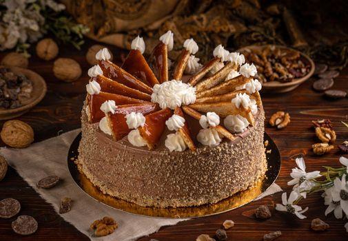 Hungarian Dobosh cake
