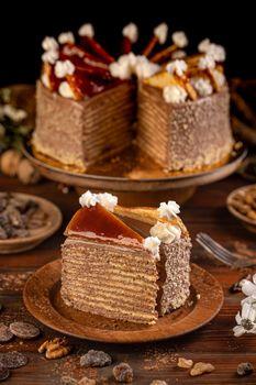 Dobosh Hungarian cake