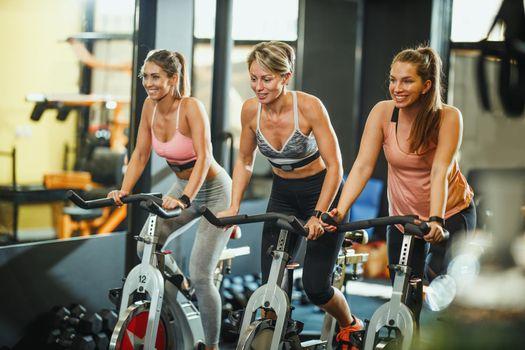 training on exercise bikes