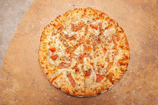 Delicious Italian White Pizza