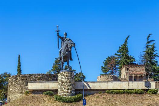 Statue of King Erekle II, Telavi, Georgia