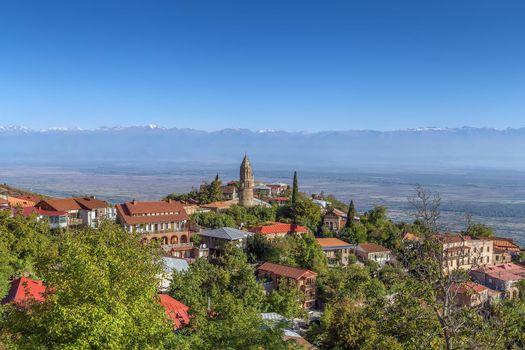View of Signagi, Georgia
