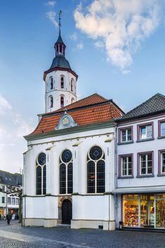 Evangelical church, Xanten, Germany