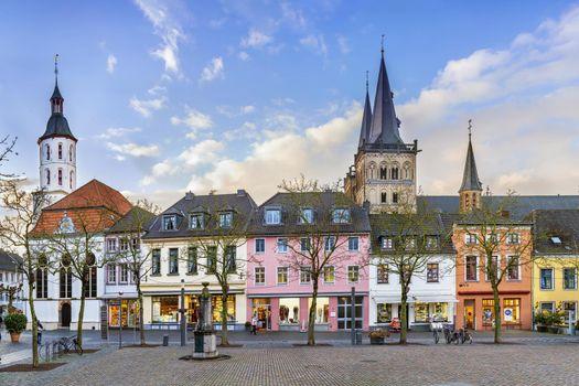 Xanten Market Square, Germany