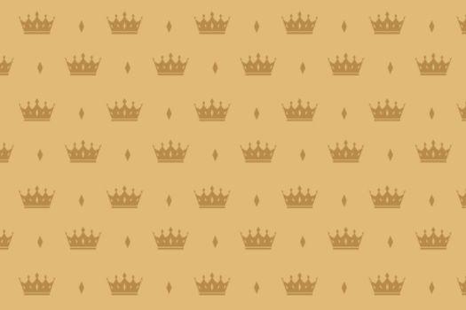 luxury crown pattern premium background