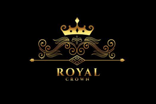 royal crown logo concept design