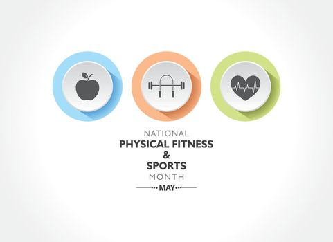 National Physical Fitness and Sports Month observed in May to promote healthy lifestyles among people.