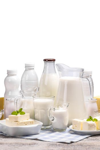Set from dairy products