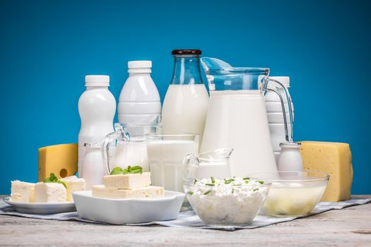Tasty healthy dairy products