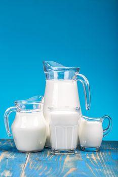 Milk in a jug