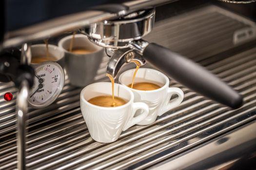 Professional espresso machine
