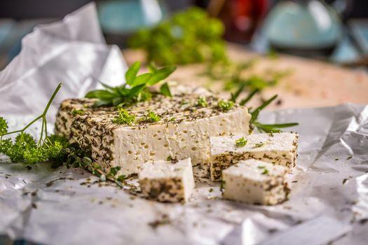 Artisan soft cheese