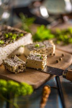 Soft  farm cheese