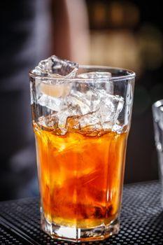 Orange juice and vodka
