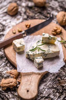 Gorgonzola soft cheese