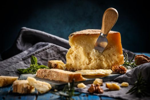 Parmesan cheese composition