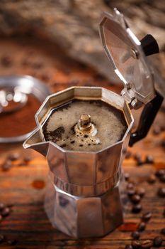 Old espresso pot