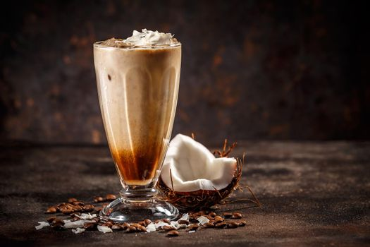 Coconut flavored coffee