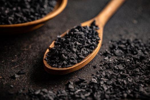 Black gourmet salt
