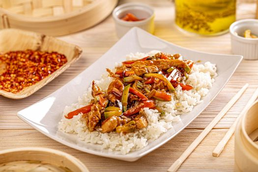 Typical Chinese dish