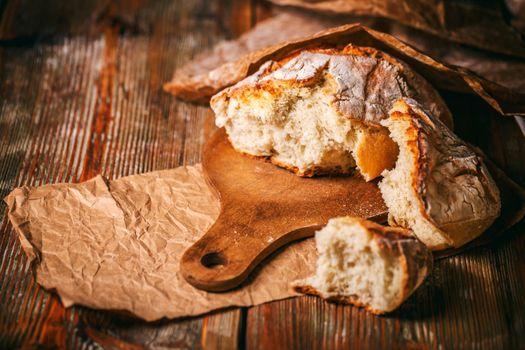 Crusty cereal bread