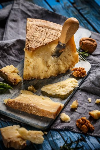 Delicious parmesan cheese