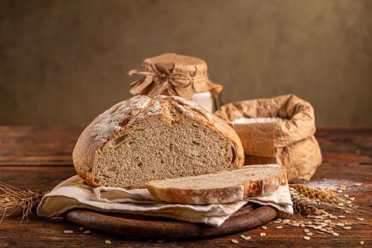 Loaf of a sourdough bread