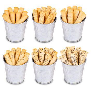 Crispy bread sticks