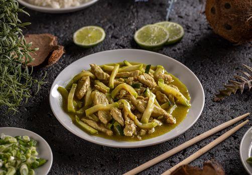Asian style cuisine