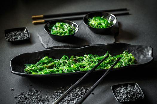 Pickled spicy seaweed