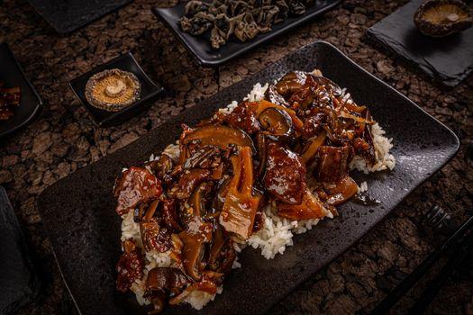 Beef chop suey