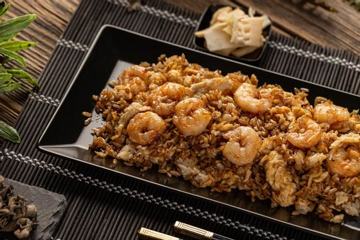 Classic shrimp fried rice