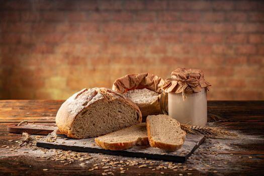 Active wheat sourdough