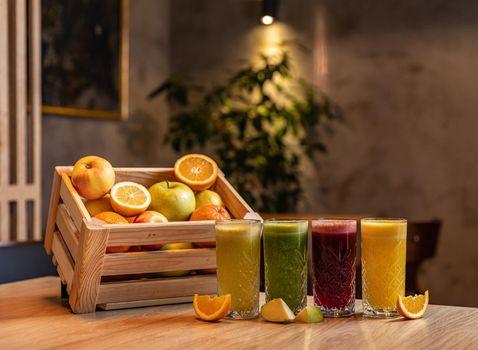 Homemade refreshing fruit beverage