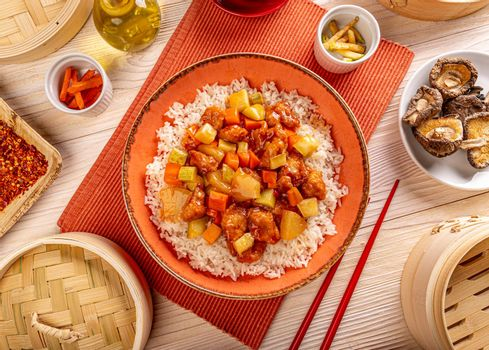 Chinese cuisine concept