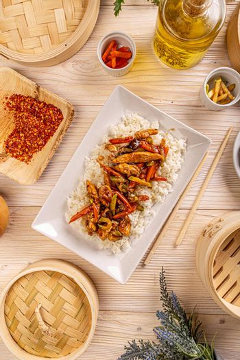 Authentic traditional Chinese food