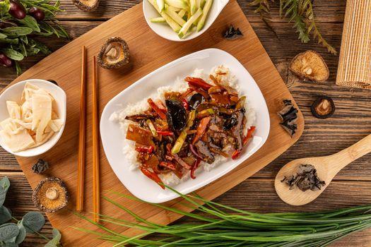 Chinese cuisine hot dish