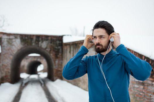 Prepare To Winter Jogging