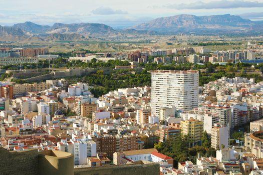 Beautiful cityscape of Alicante, Spain